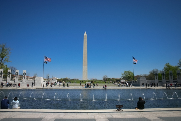 Fountain, WWII Memorial, Washington, DC
