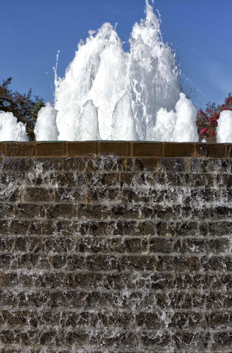 Cascading Fountain, Nixon Library, Yorba Linda, CA