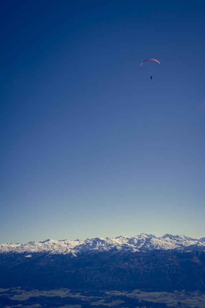 Flying High Above Innsbruck