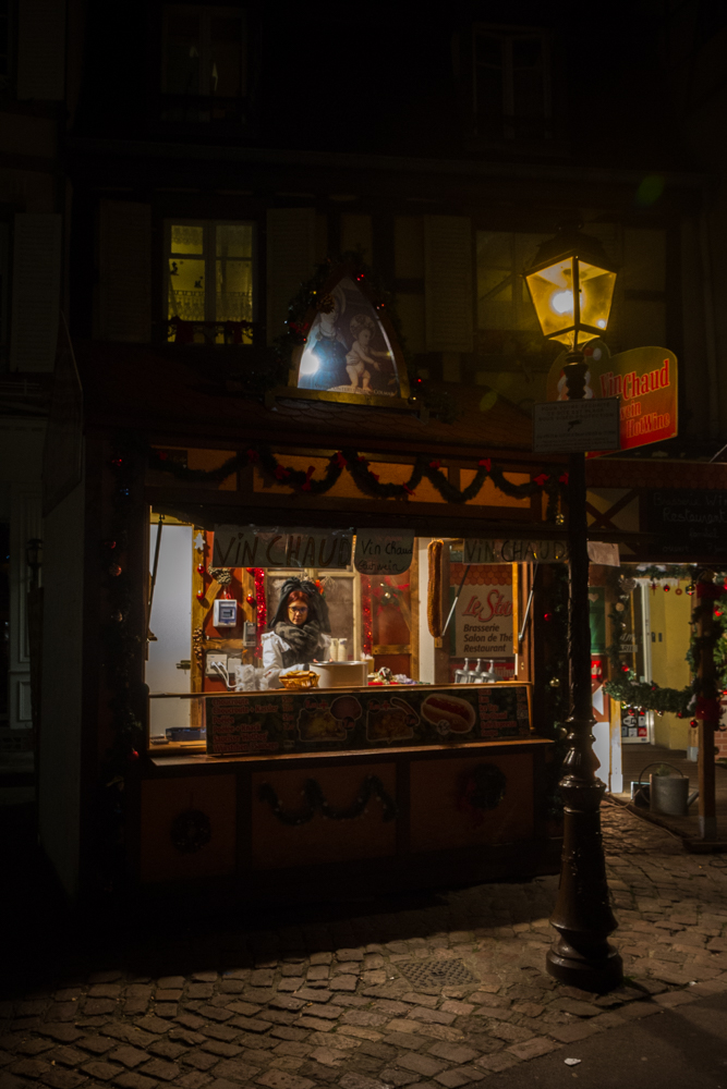 Christmas Market Hut, Colmar, France