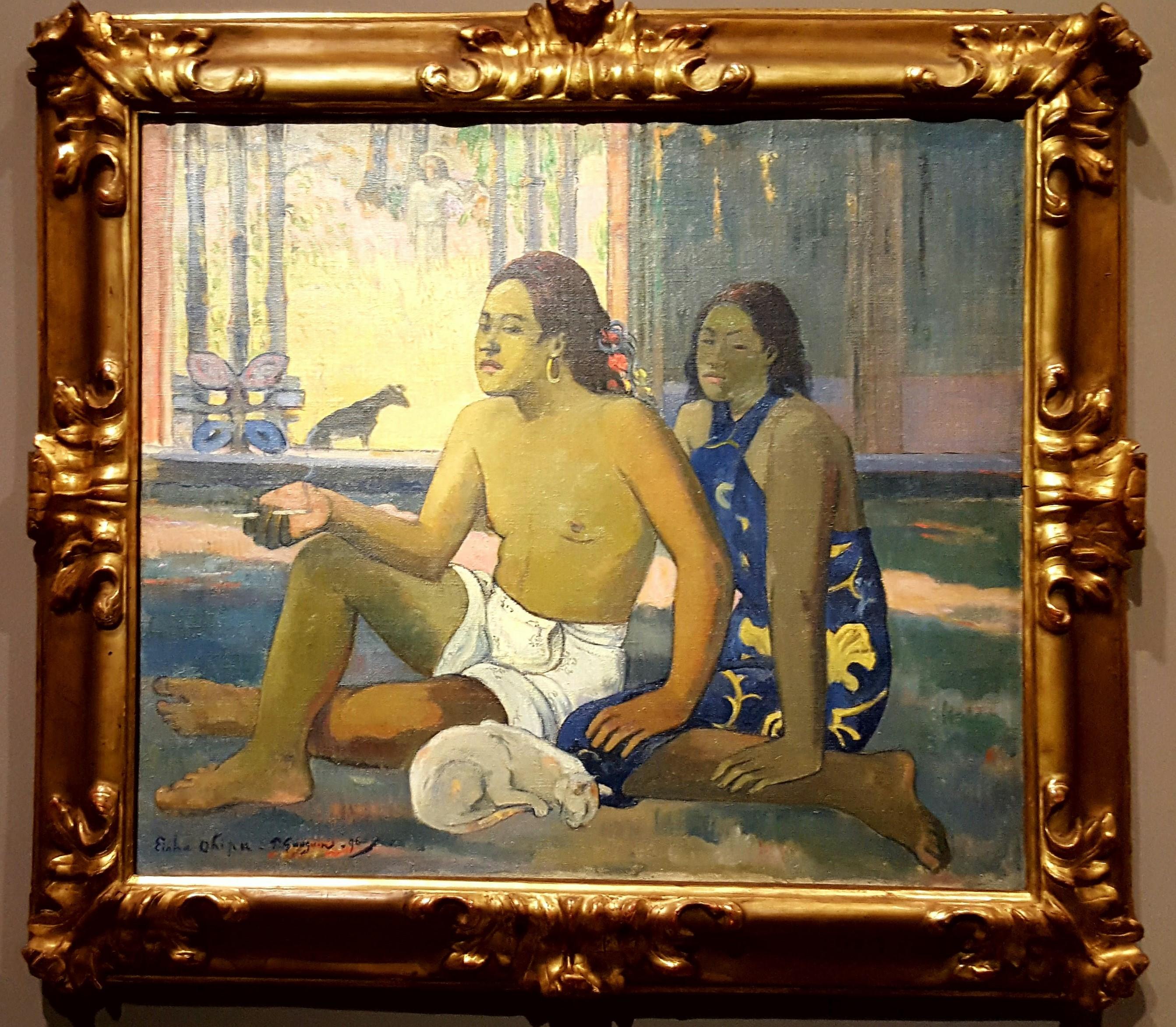 Gauguin, Do Not Work, 1896.