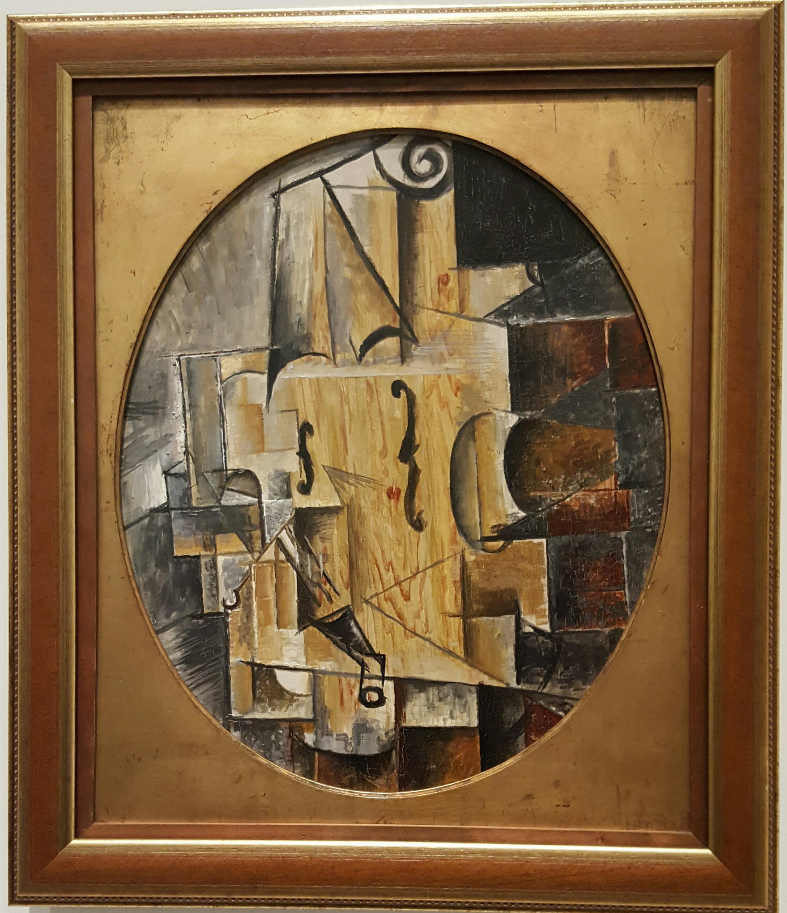 Picasso, Violin, 1912
