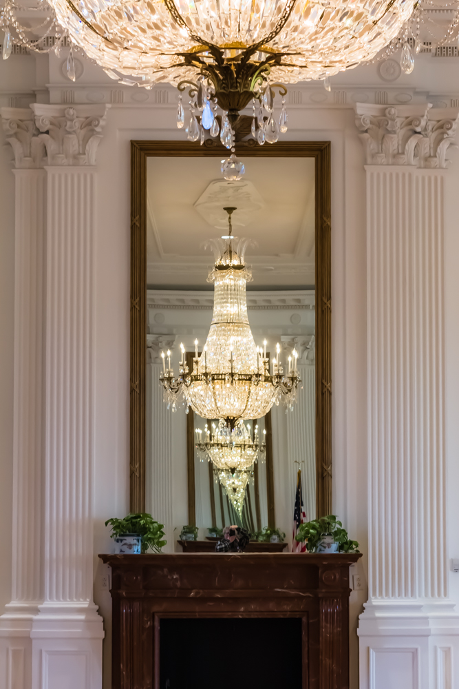 Replica of the East Room of the White House, Nixon Library, Yorba Linda, CA