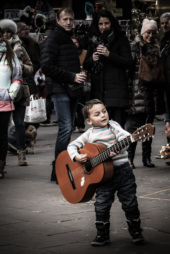 Someday I Will Play, Stree Musician, Strasbourg France