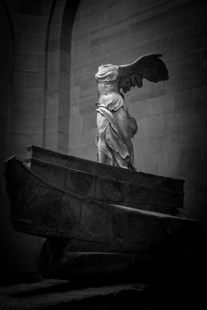 Winged Victory of Samothrace, Louvre, Paris, France