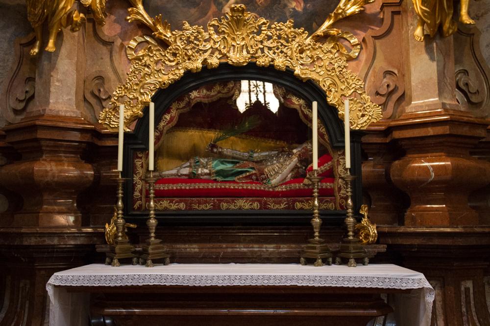Relic, Melk Abbey, Melk, Austria