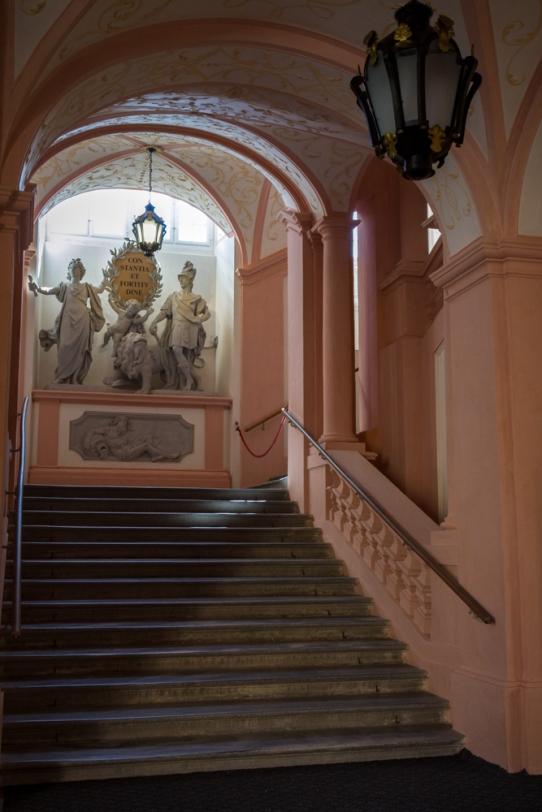 Stairway, Melk Abbey, Austria