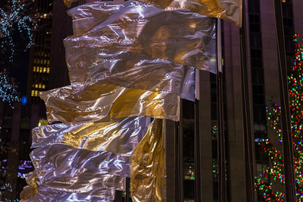 Flags, Rockefeller Center, New York City