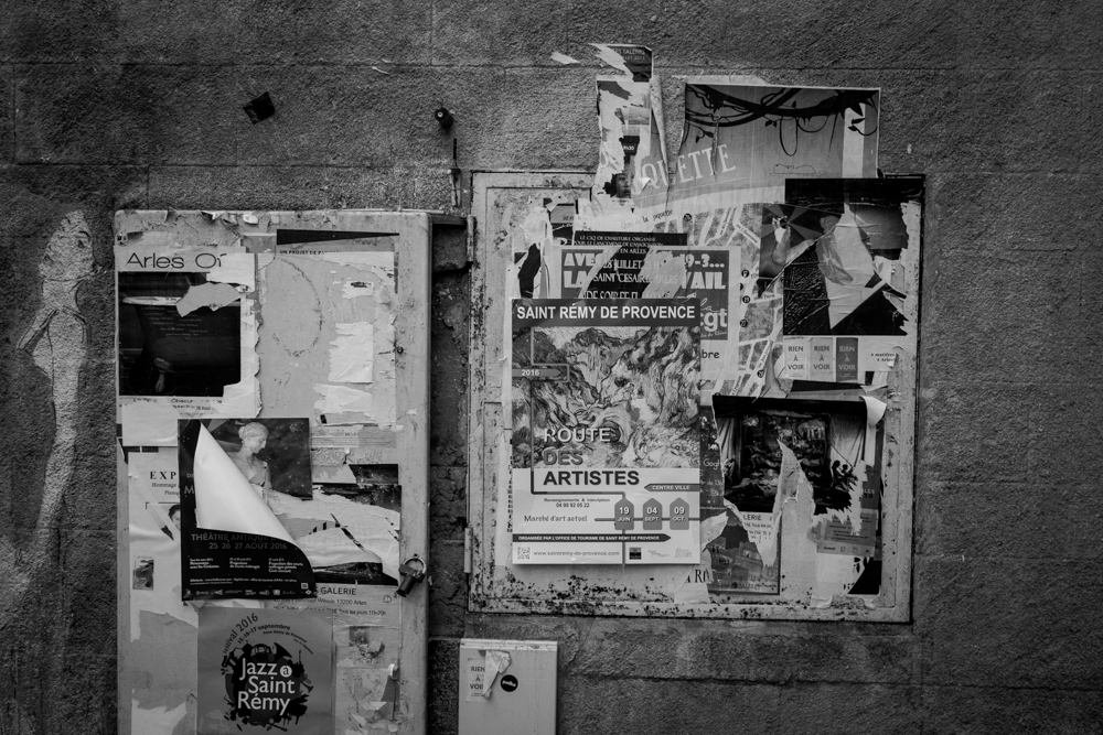 Layers of Posters, Arles, France