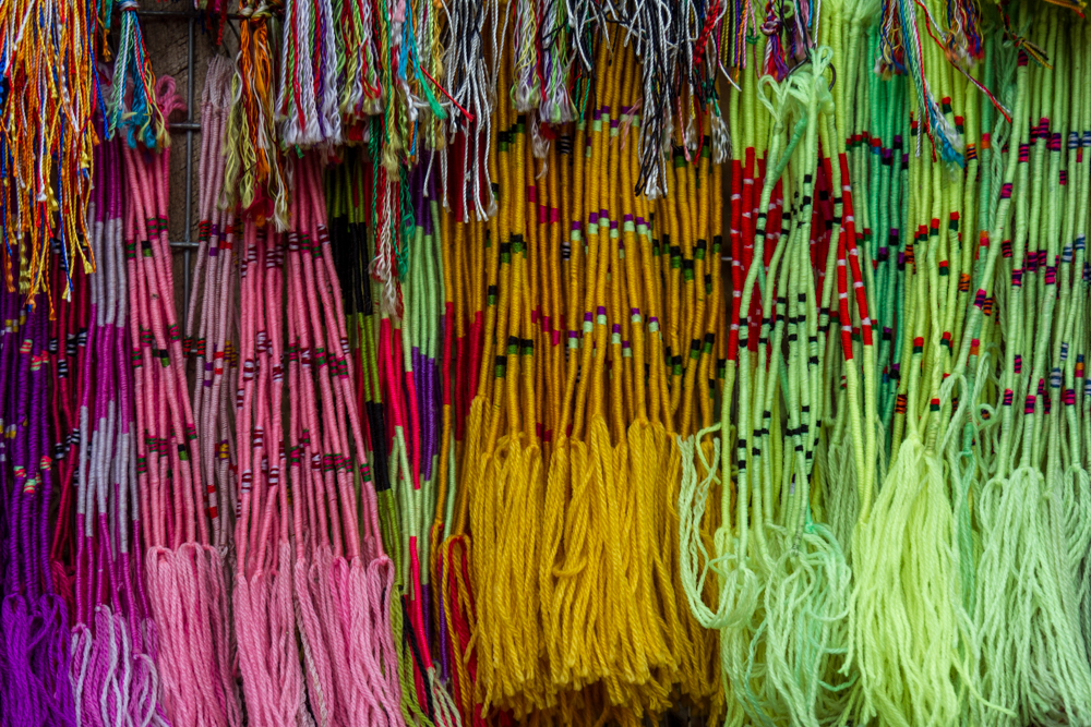 Buddhist Prayer Bracelets, Adam's Peak, Sri Lanka