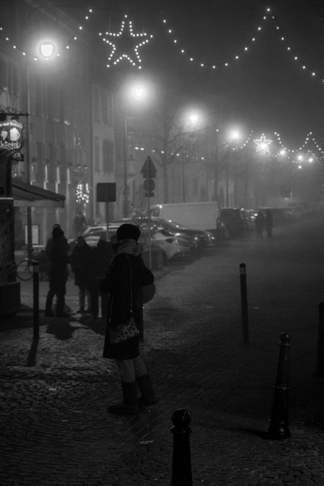 Foggy December Night, Arles, France