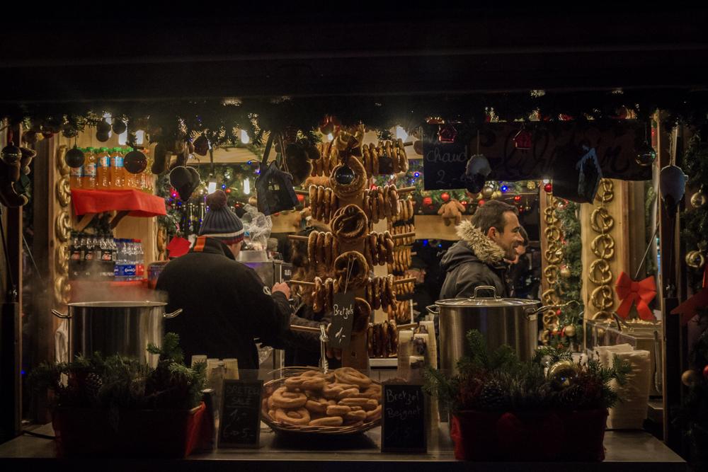 Vendors, Colmar Christmas Market, France