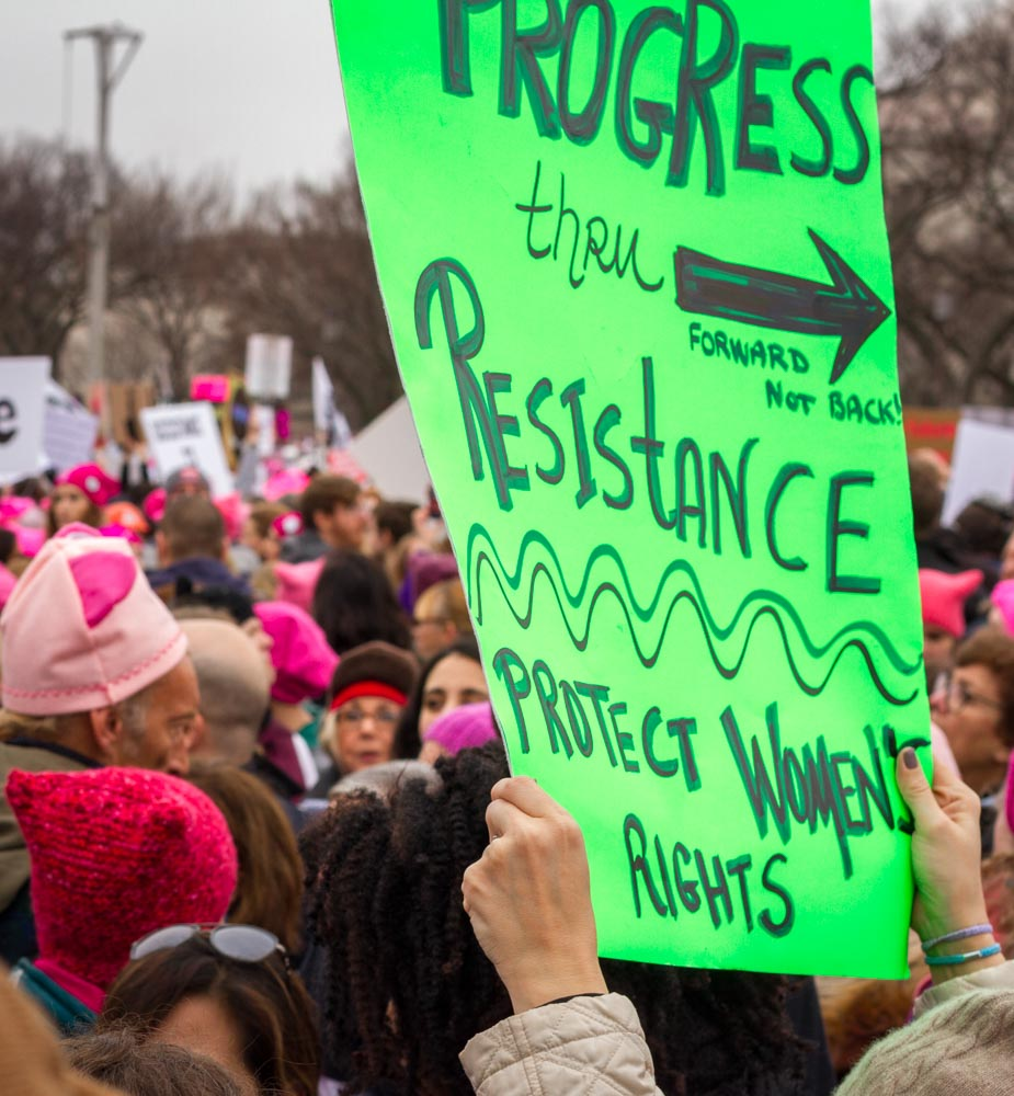Women's March, Washington, DC, 2017
