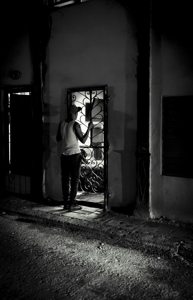 Midnight Conversation, Havana, Cuba