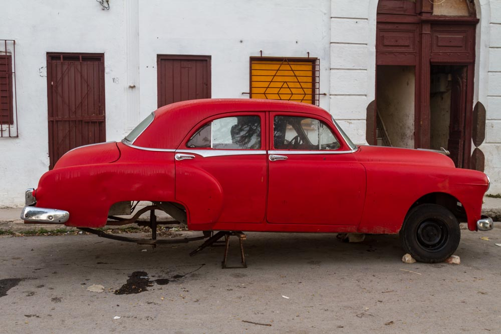 Work in Progress, Classic Car, Casablanca, Havana, Cuba