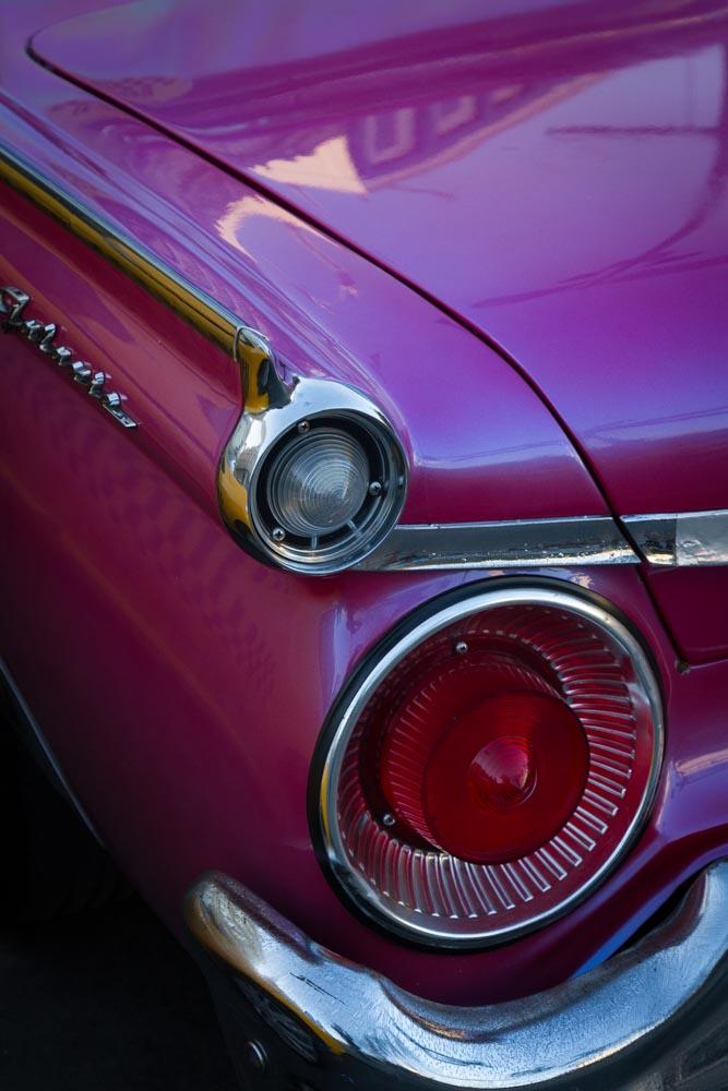 HOt Pink Ford Fairlane, Havana, Cuba