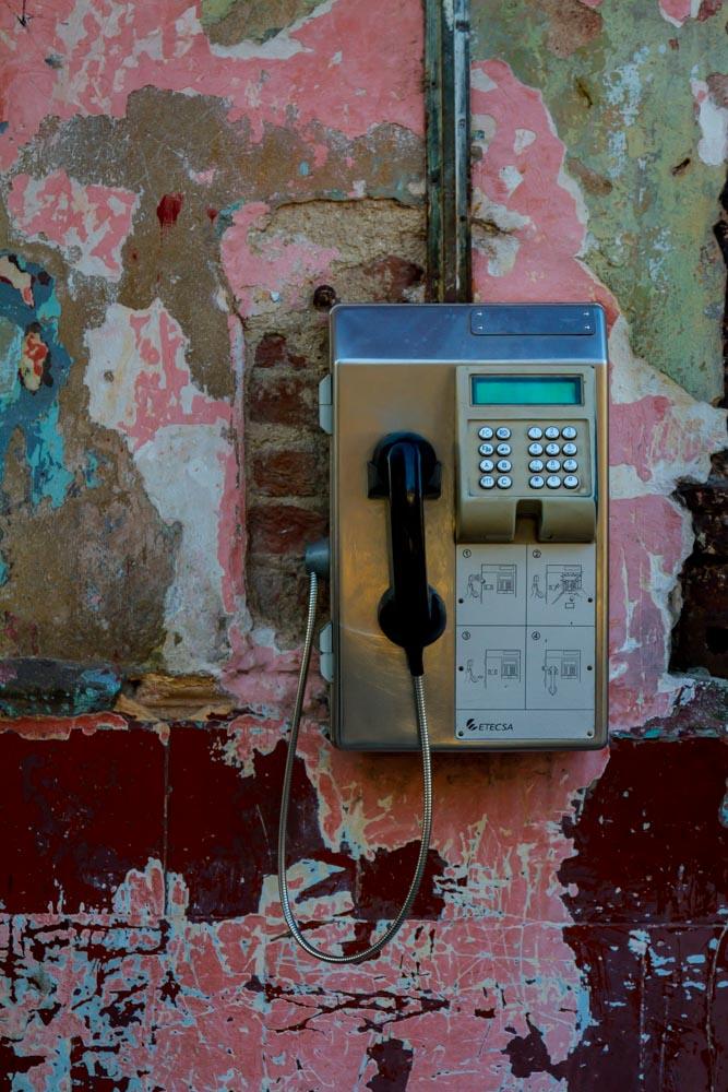 Pay Phone, Casablanca, Havana, Cuba