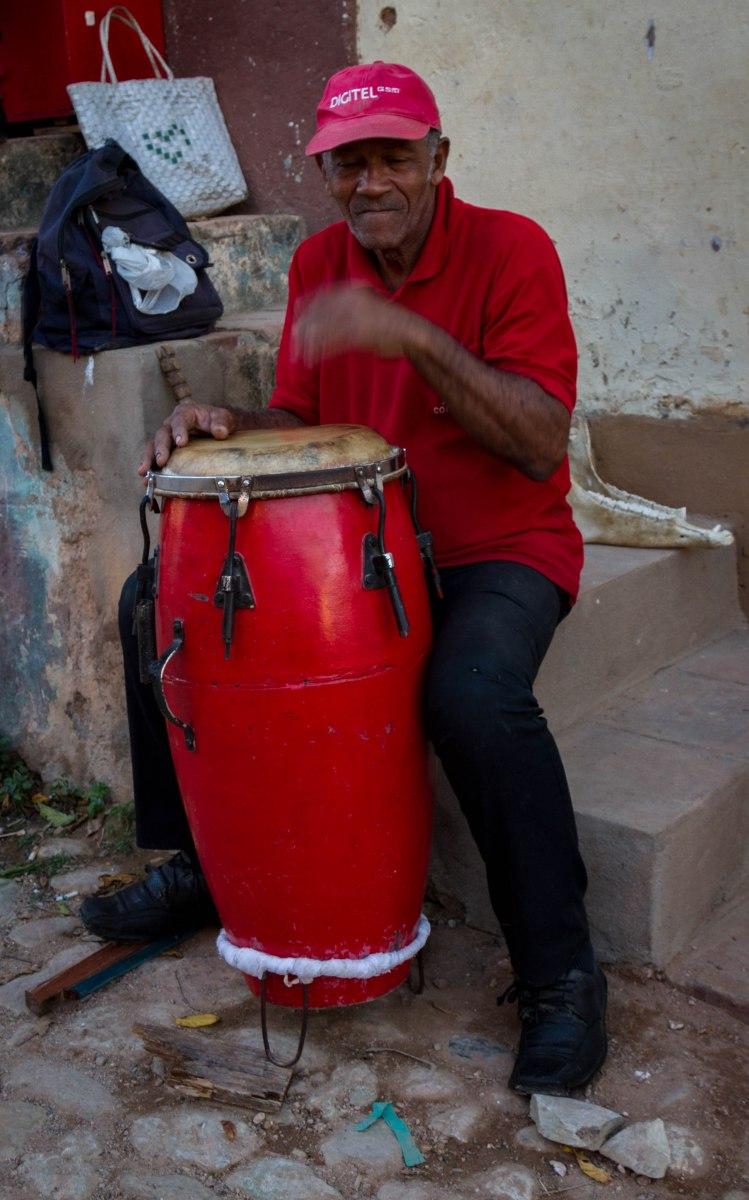 Drummer, Trinidad, Cuba