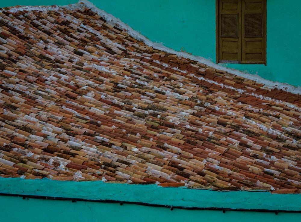 Roof Tilels Trinidad, Cuba
