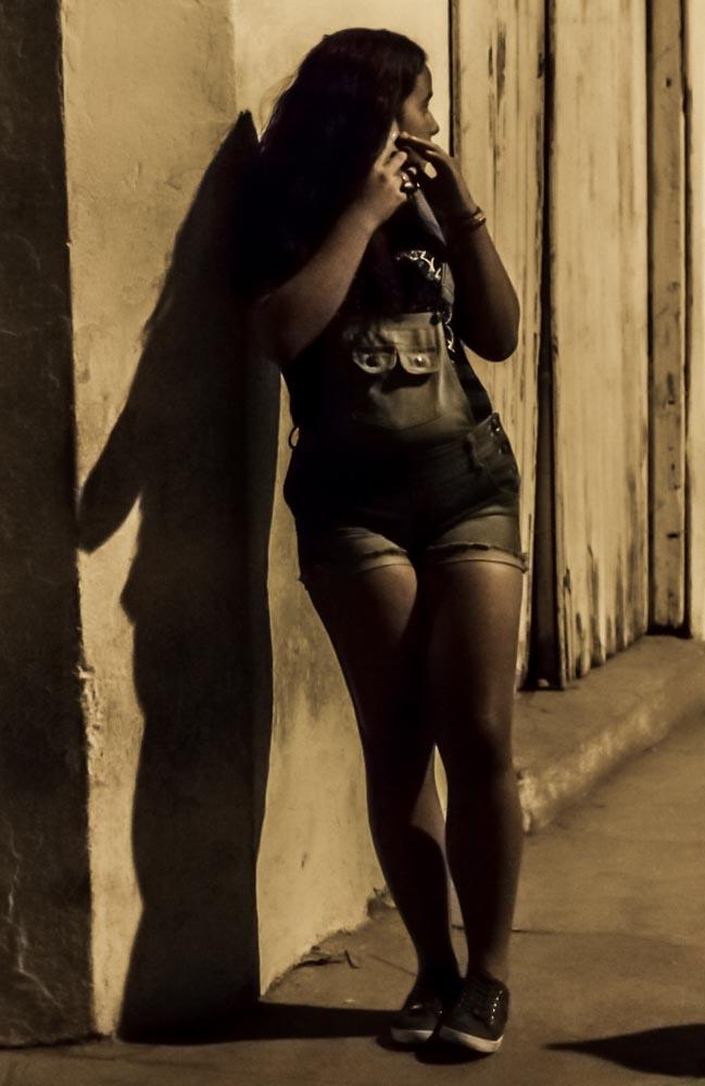 Street Shadow, Trinidad, Cuba