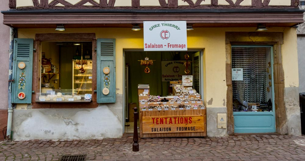 Sausage shop, Colmar, France