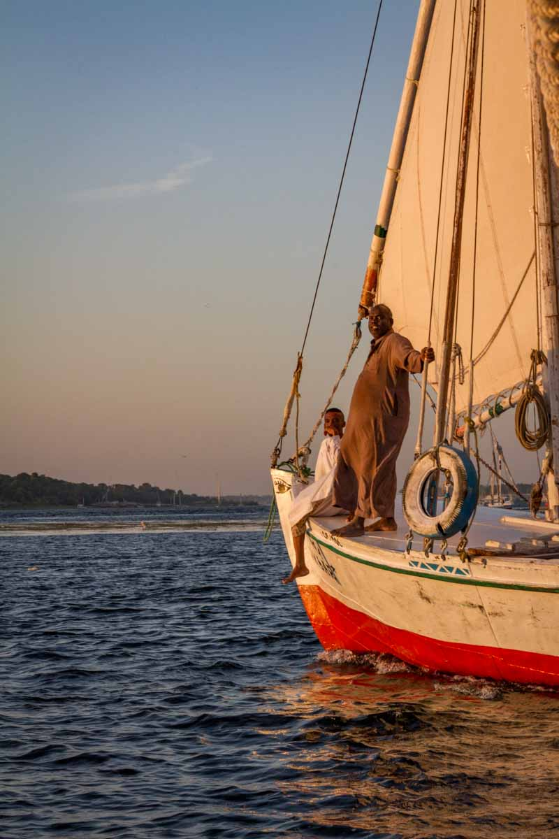 Felucca on the Nile, Near Aswan, Egypt