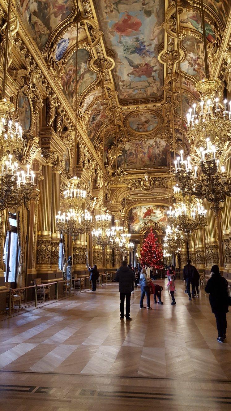 Palais Garnier, Grand Salon, Paris, France