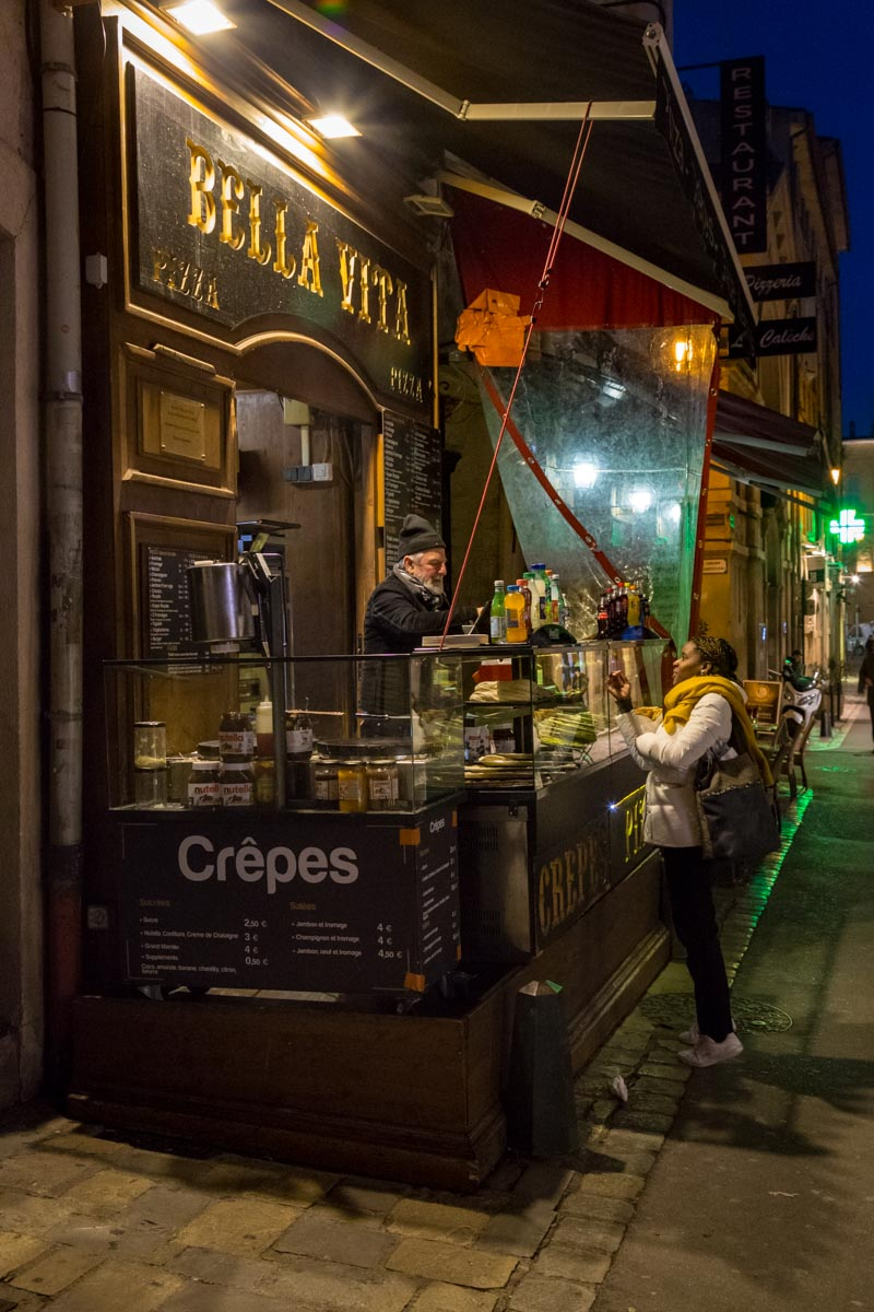 Crepes Vendor, Aix-en-Provence, France