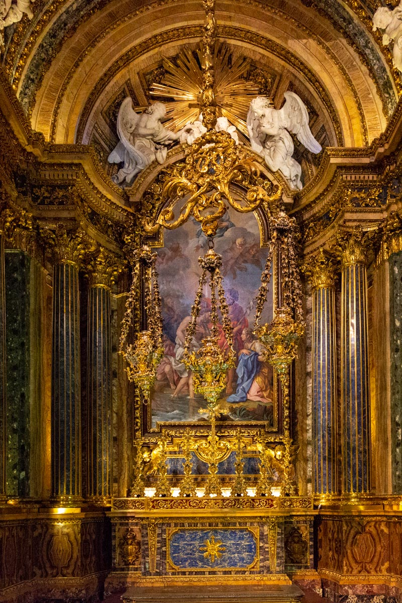 Chapel of John the Baptist, Church of St. Roch, Lisbon, Portugal