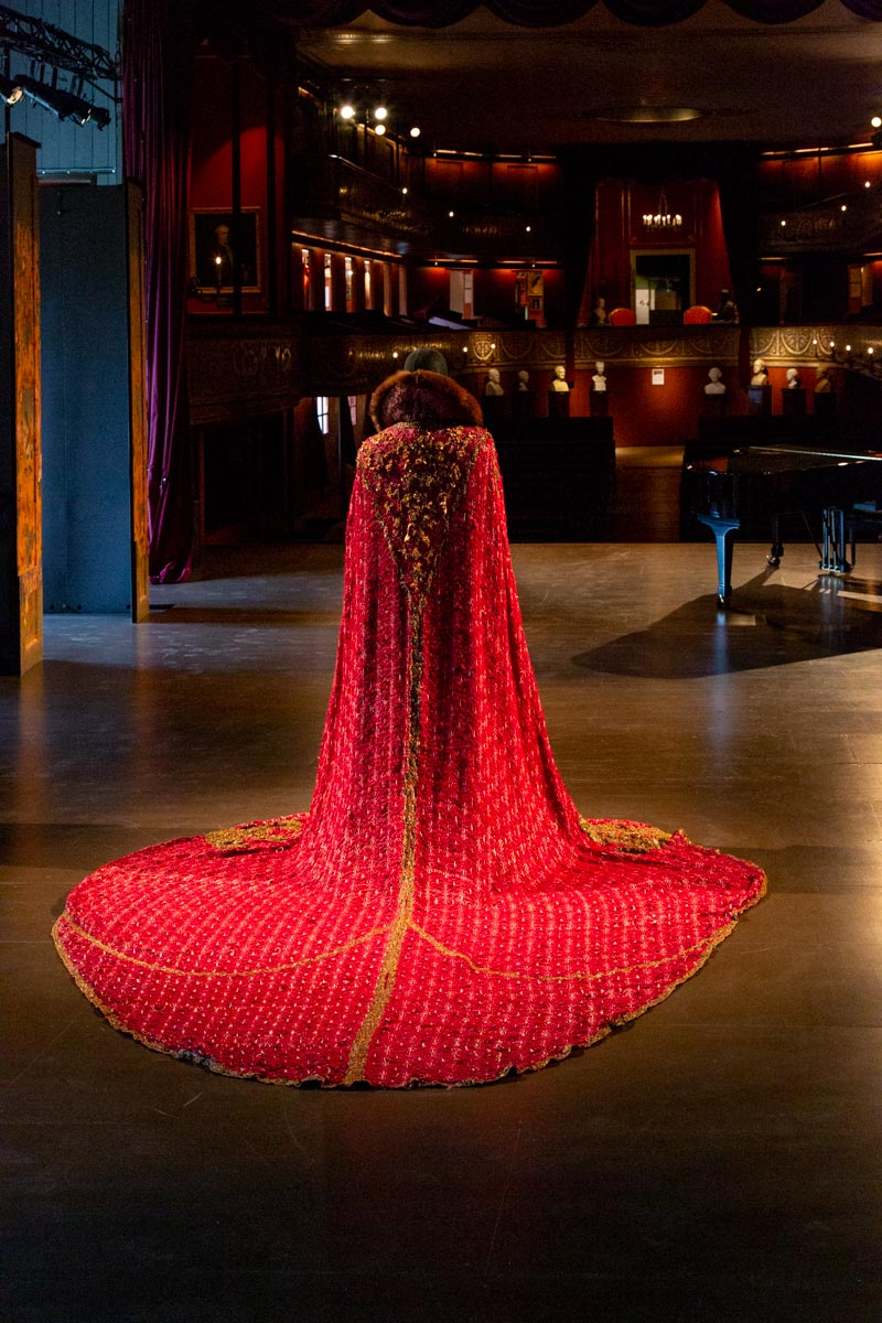 Costume, Theater Museum, Cristionsborg Palace, Copenhagen Denmark