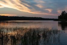 Sunset, Big Mantrap Lake, Minnesota