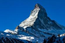The Matterhorn, from Zermatt, Switzerland