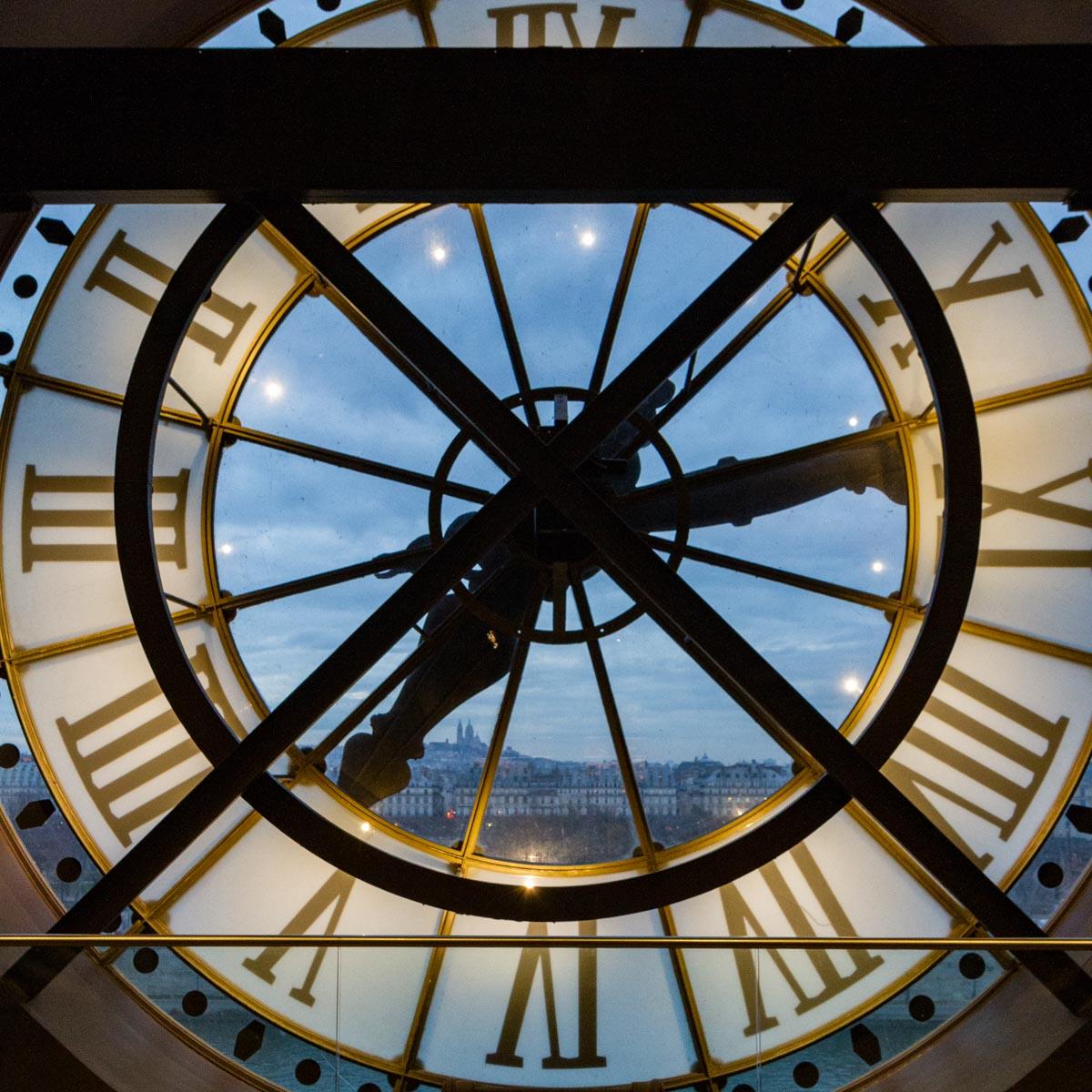 Clock, Musee d'Orsay, Pariis, France