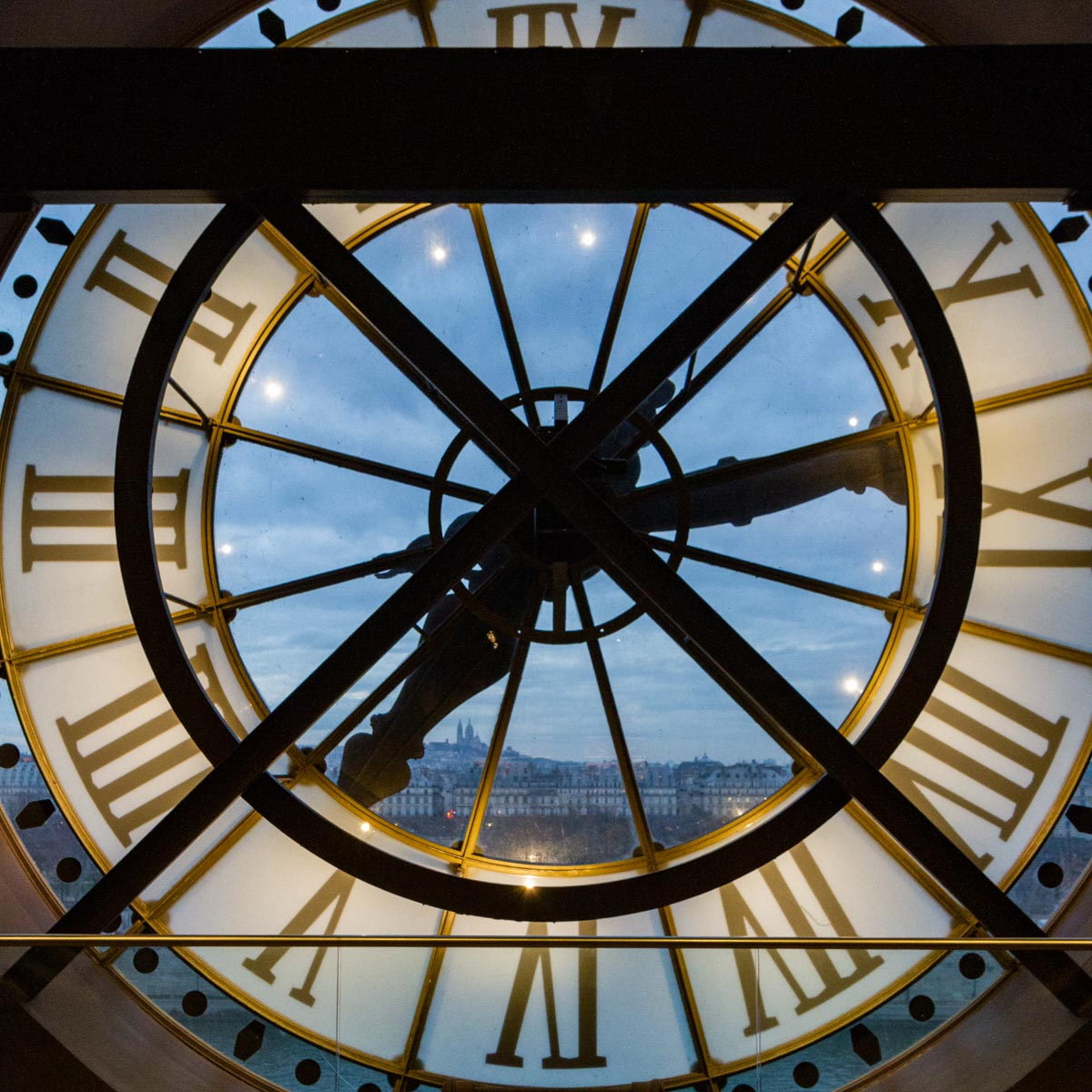 Clock, Musee d'Orsay, Pariis, France
